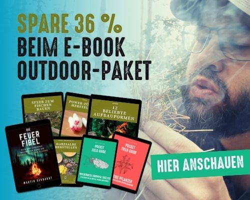 Hol dir das E-Book Outdoor-Paket und spare mehr als 36 %