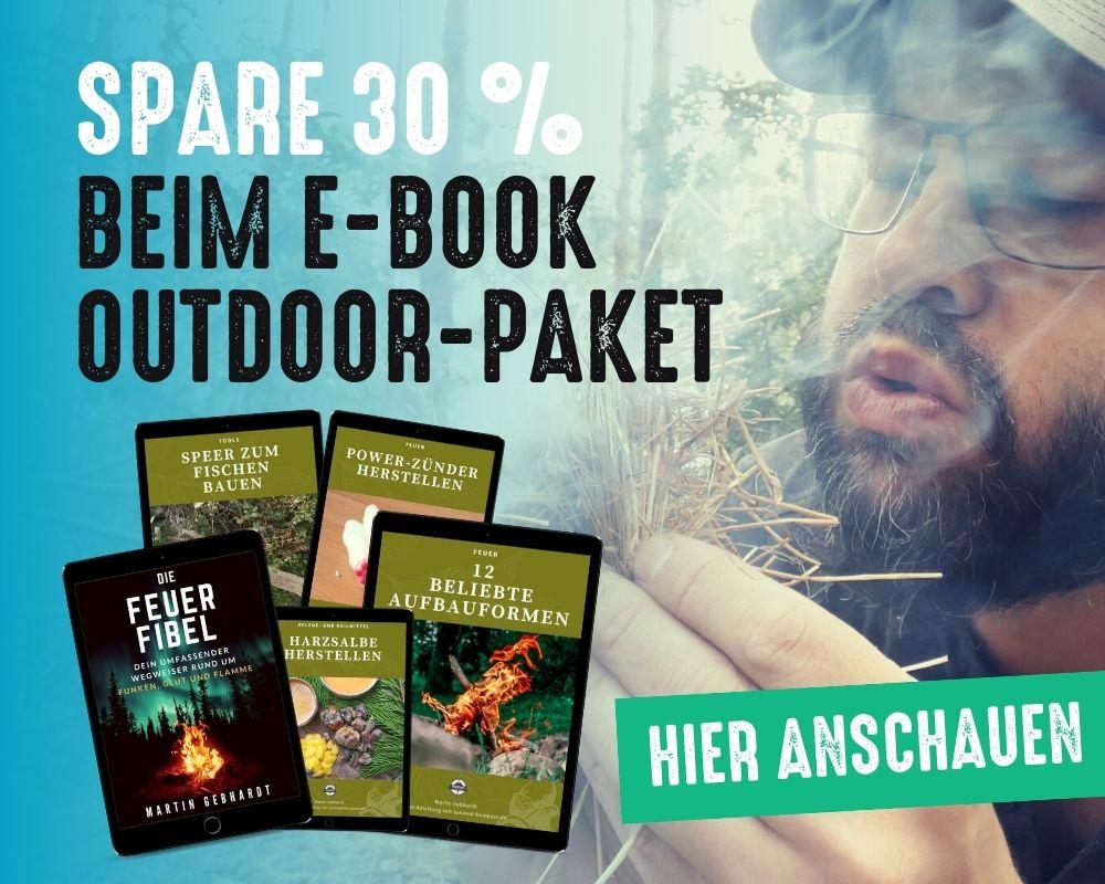 Hol dir das E-Book Outdoor-Paket und spare mehr als 30 %