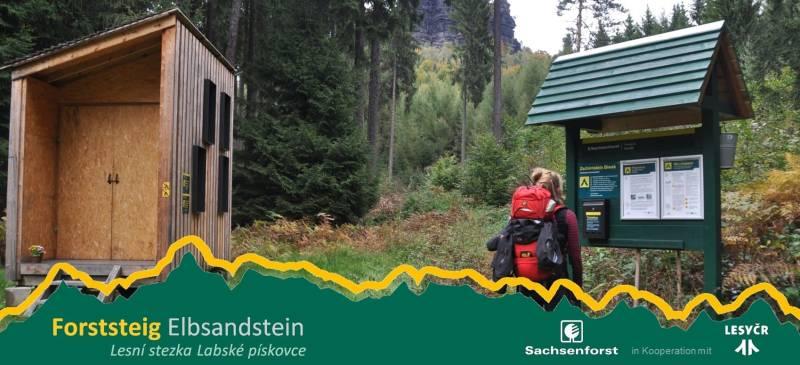 Biwakplätze am Forststeig Elbsandstein – Bild Copyright https://www.forststeig.sachsen.de