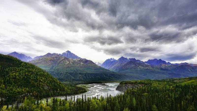 In Alaska kannst du fern ab der Zivilisation leben