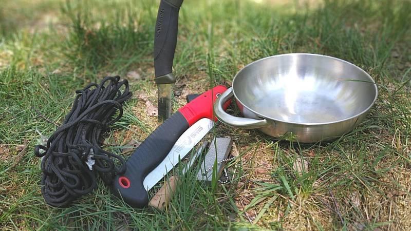 Bushcraft Anfänger Ausrüstung: 5 Ausrüstungsgegenstände