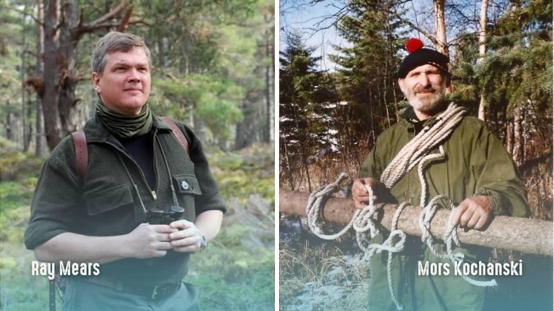 Bushcraft Legenden: Ray Mears und Mors Kochanski