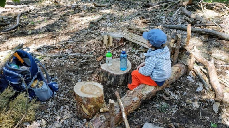 Bushcraft mit Kindern: eine tolle Zeit, aber auch eine Herausforderung