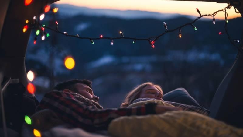 Schlafen im Auto kann eine fantastische Alternative zum Zelt sein