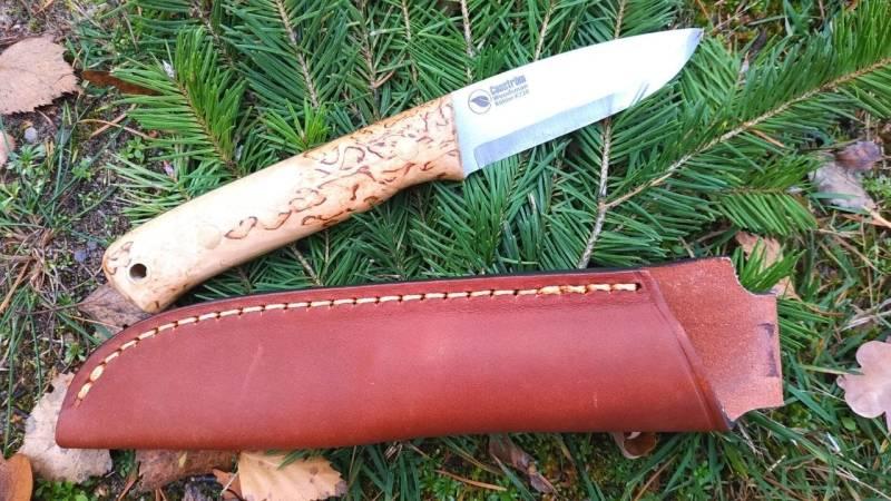Das Casström Woodsmann ist für Bushcrafter und Waldläufer besonders gut geeignet