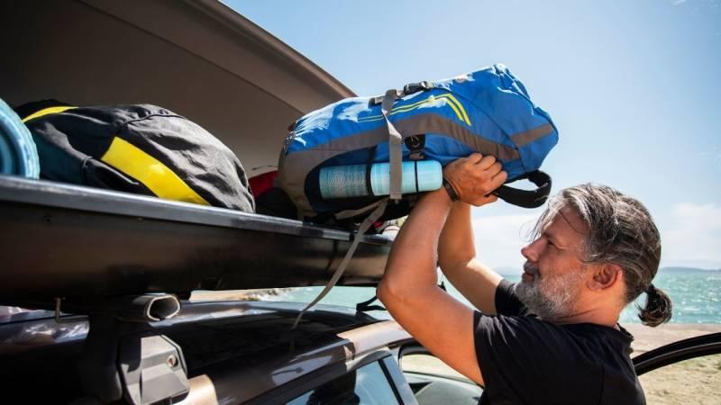 Eine Dachbox macht Sinn, wenn der Platz im Auto knapp wird