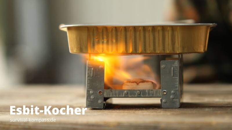 Esbit-Kocher: unheimlich klein und leicht
