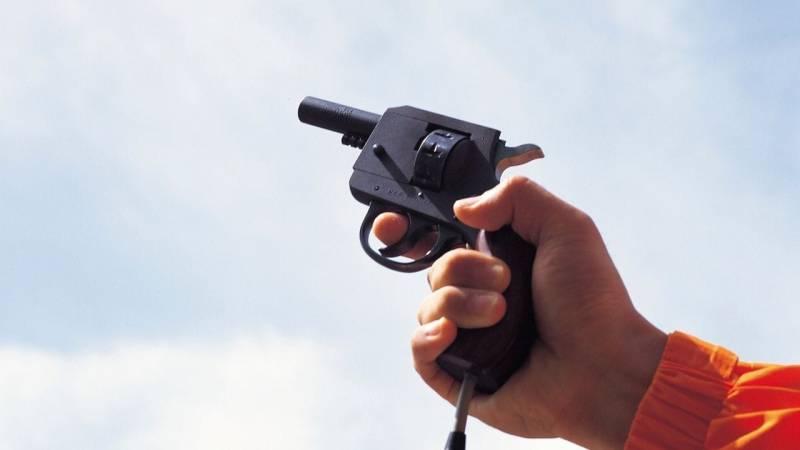 Die Munition einer Leuchtpistole kannst du nutzen, um ein Feuer zu machen
