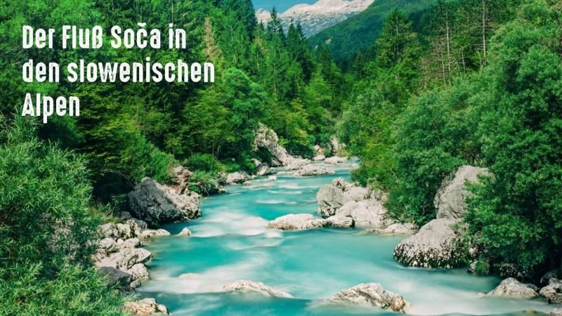 Diese tolle Landschaft wartet in Slowenien auf dich