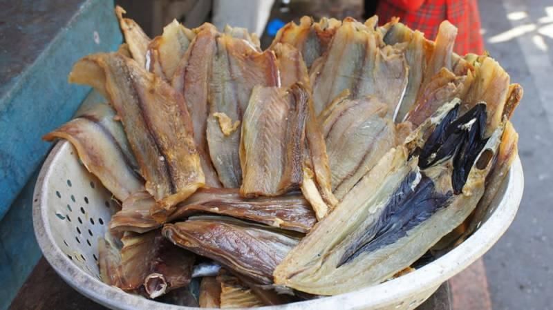 Fertiger Stockfisch