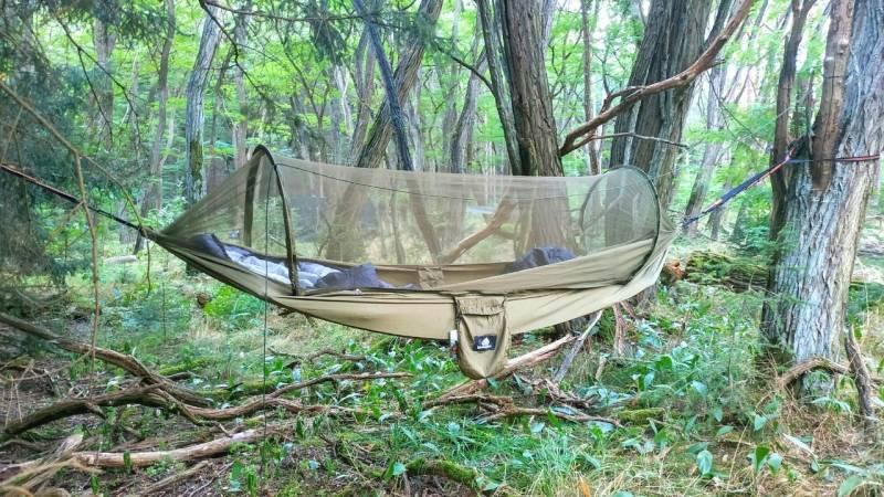 Mit der Hängematte schlafen: Grundlagen und Ausrüstung