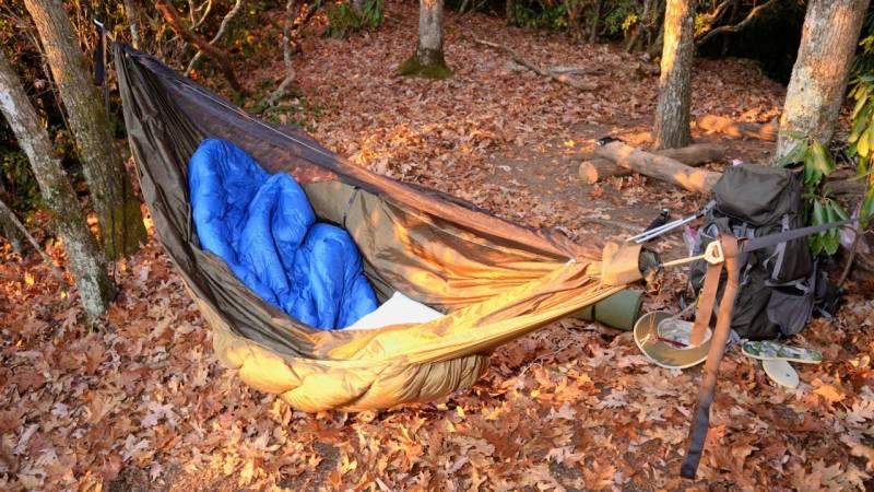 Besorg dir einen guten Schlafsack