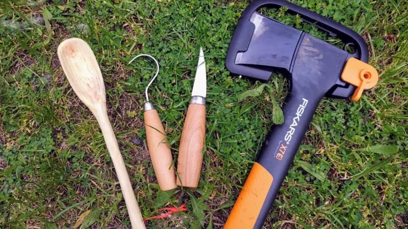 Holzlöffel schnitzen: wie du anfängst und was du brauchst