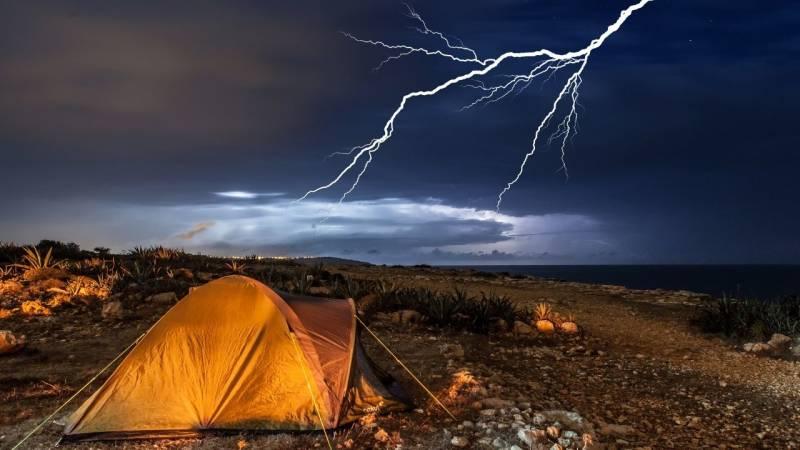 Ist es gefährlich bei Gewitter zu zelten? (Wie verhalten?)