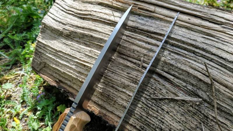 Dicke und dünne Messer