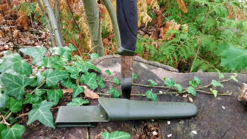 Das Morakniv Companion Messer ist ein Allrounder