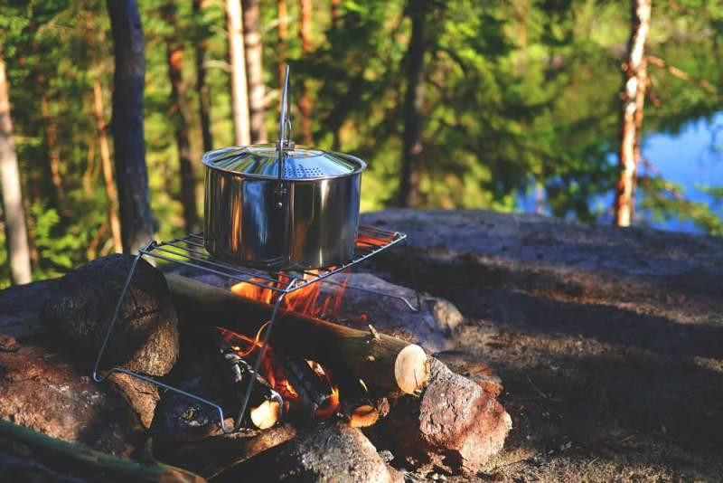 Offenes Feuer im Wald ist meistens verboten