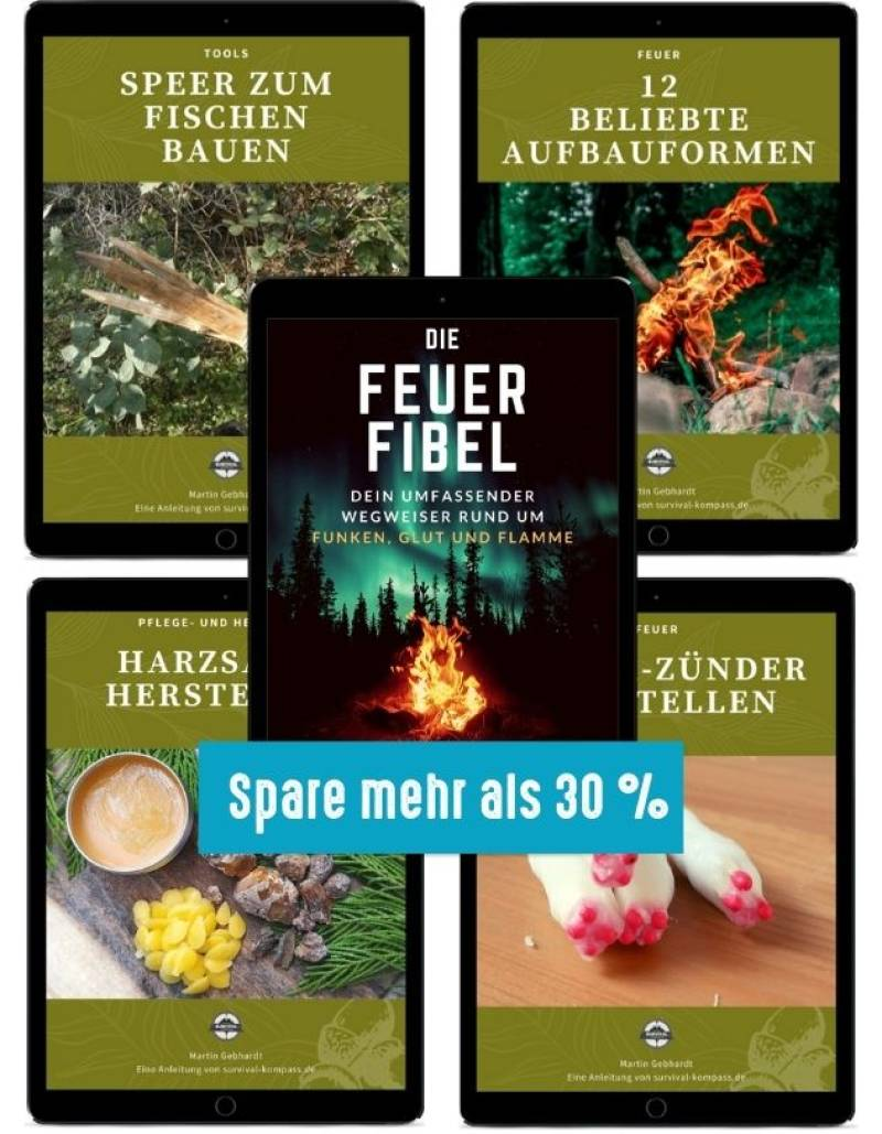 Outdoor-Paket (Feuer, Speer, Zünder)