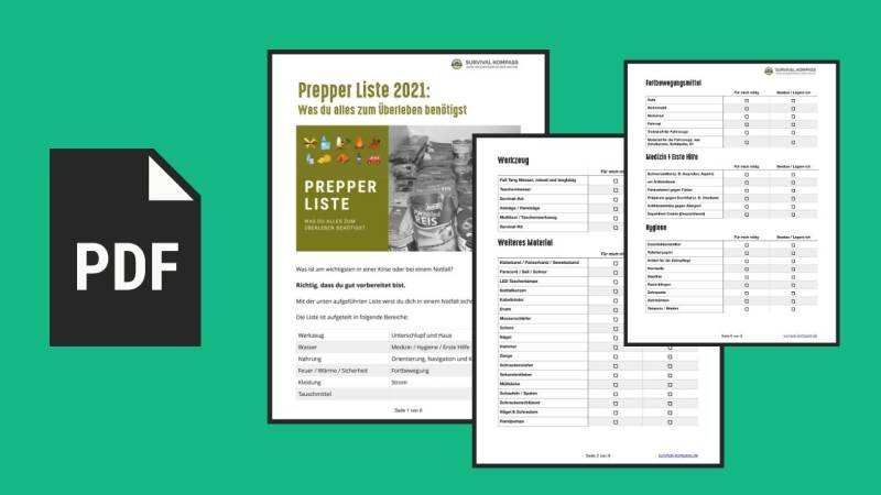 Vorschau der PDF-Prepper-Liste