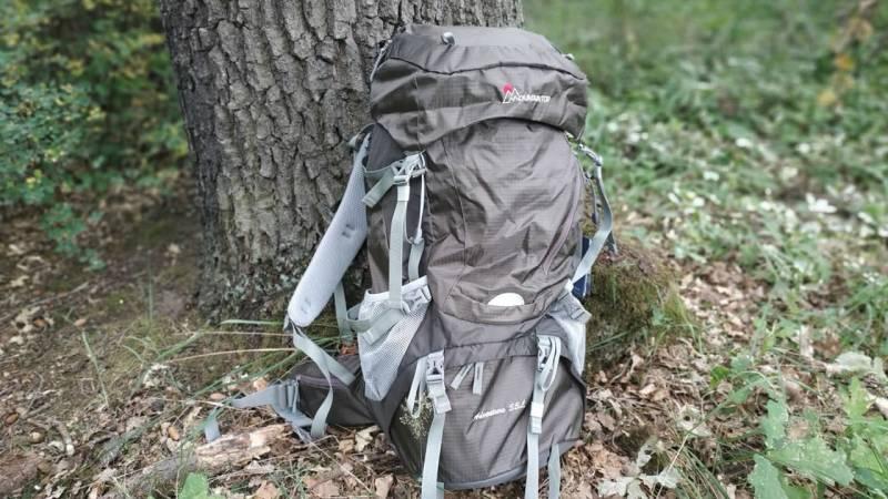 MOUNTAINTOP Rucksack 55 Liter für Survival, Bushcraft und Trekking (+Video)
