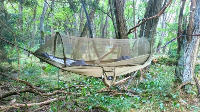 Deine erste Nacht im Wald schlafen (Ausrüstung und Lage)