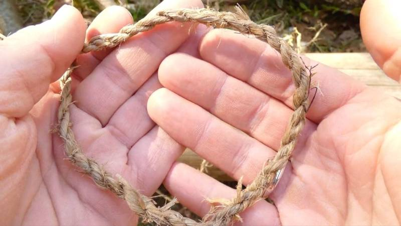 Seile herstellen sollten Bushcrafter und Survivalisten gleichermaßen beherrschen