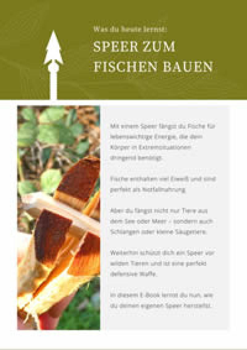 Vorschau Bild 1 zum E-Book Einen Speer zum Fischen bauen