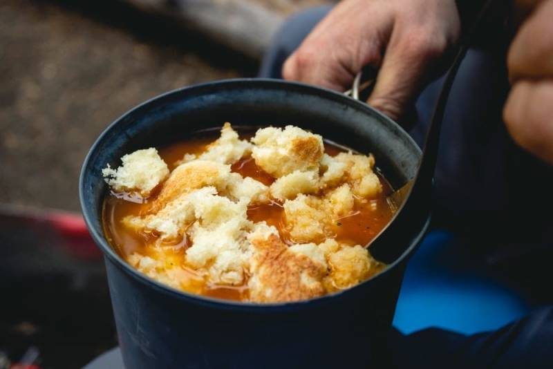 Suppe mit dem Hobo