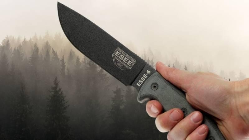 Das Survival-Messer ESEE 6 ist sehr beliebt