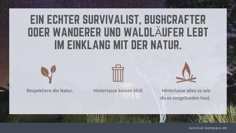 Einklang mit der Natur