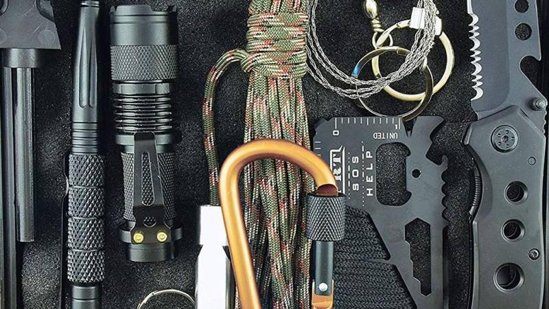 Hochwertige Survival-Kit's machen sich oft im Preis bemerkbar