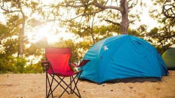 5 Möglichkeiten, um beim Sommercamping kühl zu bleiben