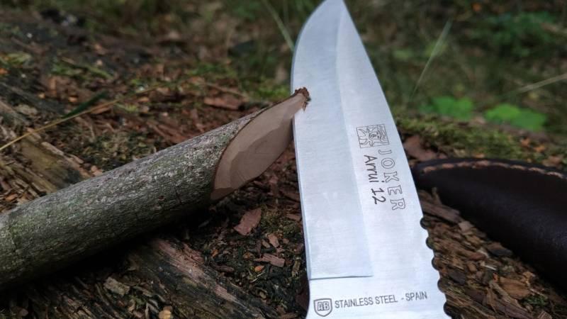 Warum ist ein scharfes Messer sicherer als ein stumpfes?