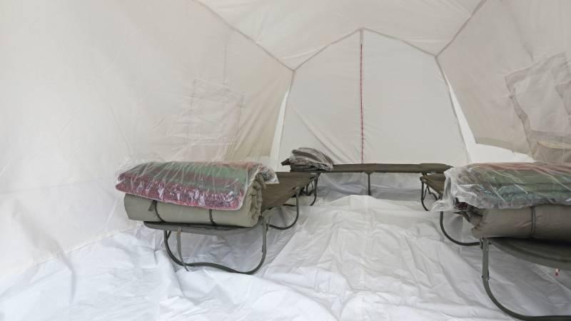Willst du auf so wenig Komfort verzichten wie mögliche, dann leg dir ein Feldbett zu