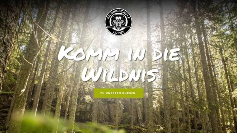 Wildnisschule Lupus bei Berlin und in Brandenburg