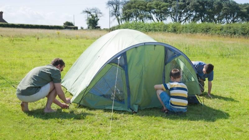 3 Tipps zur Zeltpflege, die jeder Camper beherzigen sollte